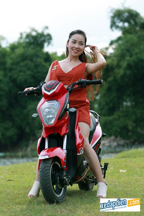 Độc đáo xe đạp, xe máy điện chống nước giá rẻ tại Hà Nội - 4