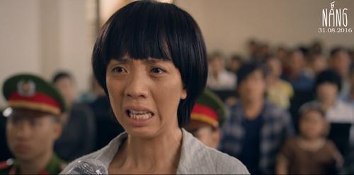 """Thu Trang mệt lả vì khóc cạn nước mắt trong phim """"Nắng"""" - 1"""