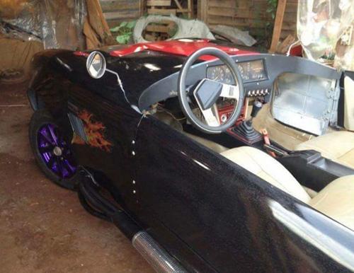 """Thợ Việt tự chế """"siêu xe"""" Shelby Cobra ở Đắk Nông - 6"""