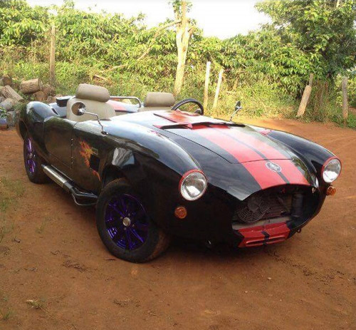 """Thợ Việt tự chế """"siêu xe"""" Shelby Cobra ở Đắk Nông - 8"""