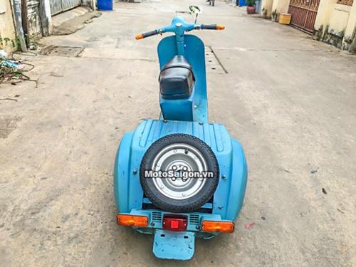 Vespa 3 bánh cực độc xuất hiện tại Việt Nam - 5