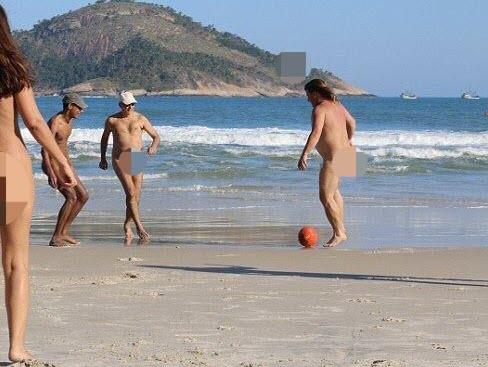 Brazil tổ chức Olympic Khỏa thân như người Hy lạp cổ đại - 2