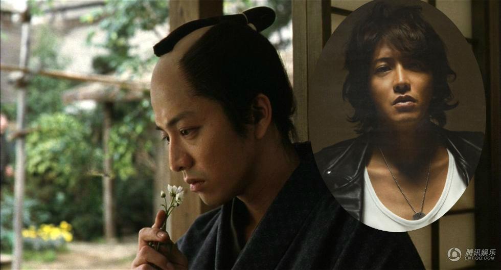 """""""Mốt"""" tóc samurai của sao nam Nhật trong phim cổ trang - 1"""