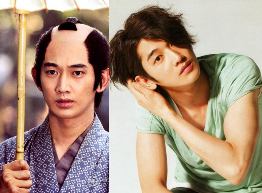 """""""Mốt"""" tóc samurai của sao nam Nhật trong phim cổ trang - 8"""