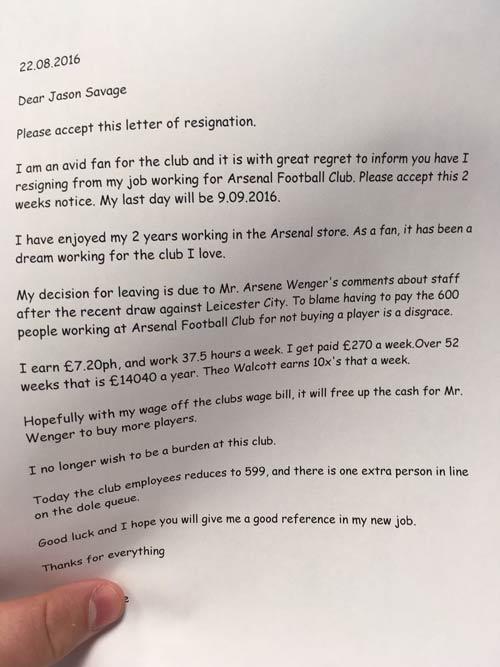 Wenger không mua cầu thủ, nhân viên Arsenal bỏ việc - 2
