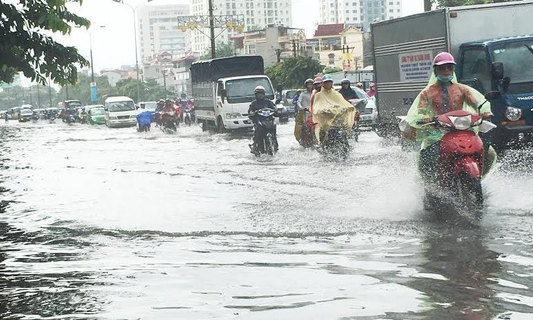 Nội thành Hà Nội có 31 điểm ngập sâu - 1