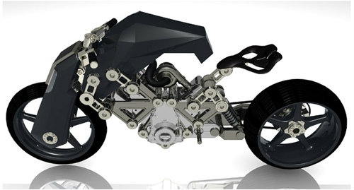 Top 10 xe môtô độc nhất cho tương lai - 10