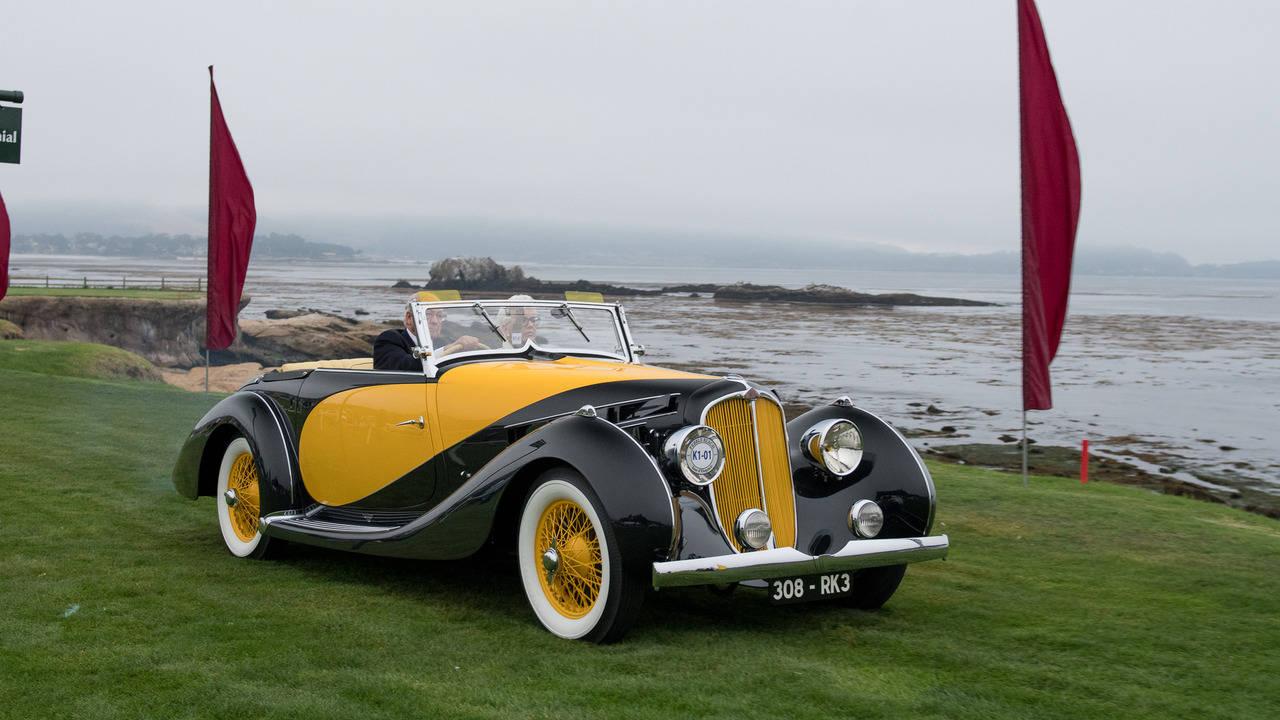 """Đã mắt với bộ sưu tập xe hơi """"độc"""" tại Pebble Beach 2016 - 4"""