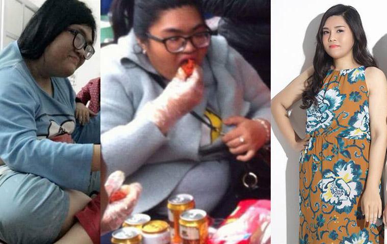 Kỳ tích: Cô béo 1,2 tạ giảm 45 kg trong 3 tháng - 4