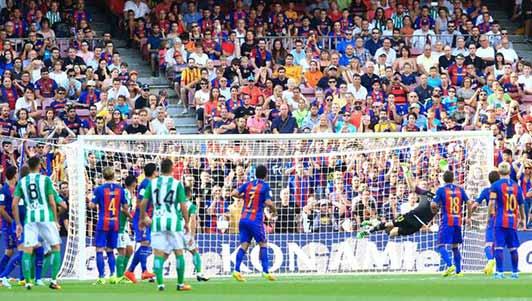 Messi đọ siêu phẩm sao trẻ Real top bàn đẹp vòng 1 Liga
