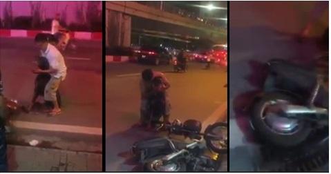 Clip: Chú chó bị đâm vào cổ gây xôn xao Hà Nội - 1