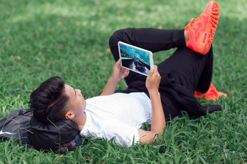 """Galaxy Tab A6 10.1"""" – """"anh tài"""" giải trí - 2"""