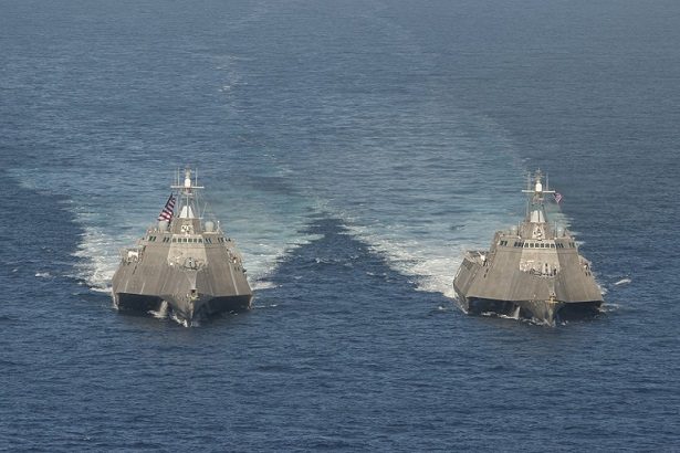 Mỹ nâng cấp tàu chiến đối phó tàu ngầm Nga, TQ - 1