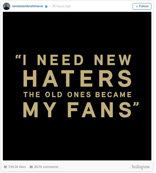 """""""Ngông"""" như Ibrahimovic ở MU: Muốn nhiều người ghét hơn - 2"""