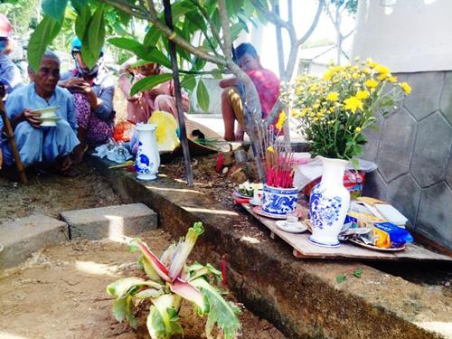 Dân đổ xô, cúng vái cây chuối 15cm nở liền 6 bắp hoa - 1