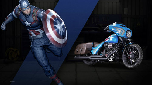 Harley-Davidson sản xuất loạt xe siêu nhân - 1