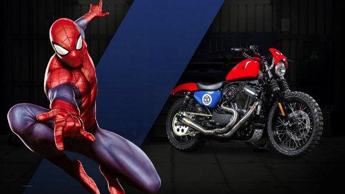 Harley-Davidson sản xuất loạt xe siêu nhân - 2