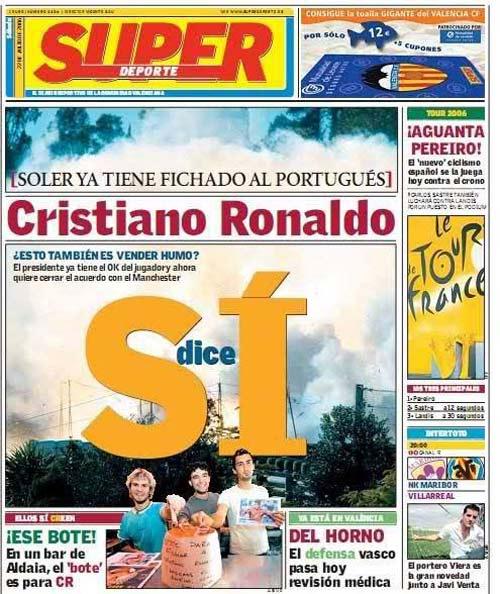 Ronaldo suýt không thành tượng đài của MU và Real - 2