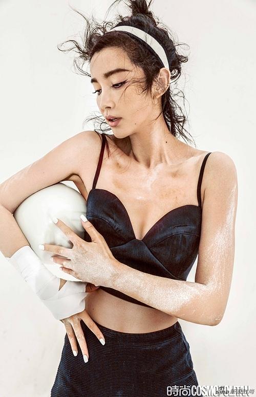Lý Băng Băng nóng bỏng trên bìa tạp chí Cosmopolitan - 2