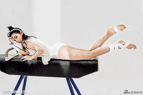 Lý Băng Băng nóng bỏng trên bìa tạp chí Cosmopolitan - 4