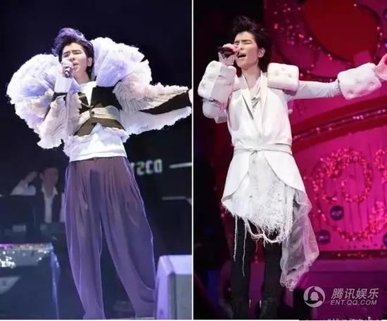 Những màn khoe thân kỳ dị trên sân khấu của sao Hoa - 7