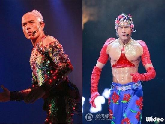 Những màn khoe thân kỳ dị trên sân khấu của sao Hoa - 2