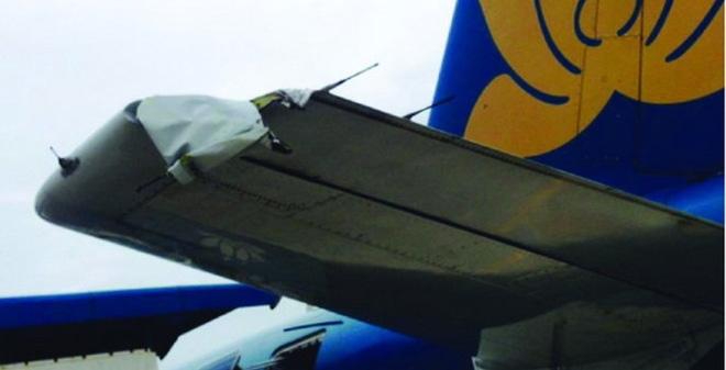 Máy bay A321 bị rách cánh tà khi đáp xuống sân bay Vinh - 1