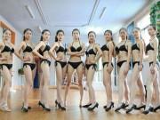Bạn trẻ - Cuộc sống - Nữ sinh nghệ thuật TQ mặc bikini khoe chân dài miên man