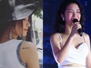 """Ca nhạc - MTV - Bối rối với những hình xăm """"nhạy cảm"""" của Hòa Minzy"""