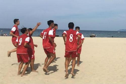 Việt Nam thắng Trung Quốc 5-2 giải bóng đá bãi biển - 1