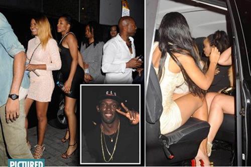 Usain Bolt ăn chơi tại quán bar chỉ dành cho... chị em - 1