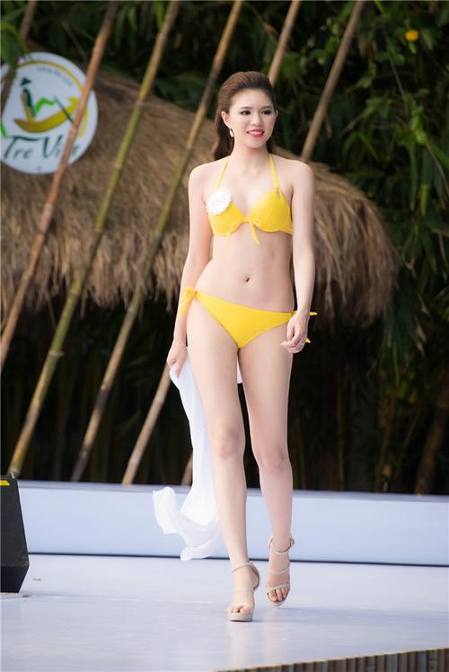"""3 mỹ nữ của Hoa hậu VN nóng """"bỏng mắt"""" hậu giảm cân - 13"""