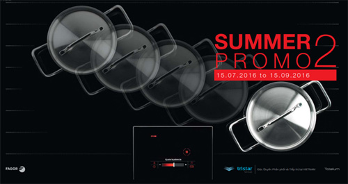 Thiết bị bếp Fagor khuyến mại – Summer Promo 2 - 1