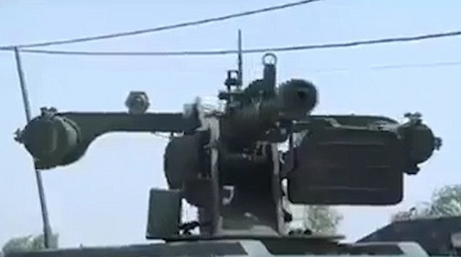 Iraq dùng robot xe tăng từ xa tiêu diệt IS - 2