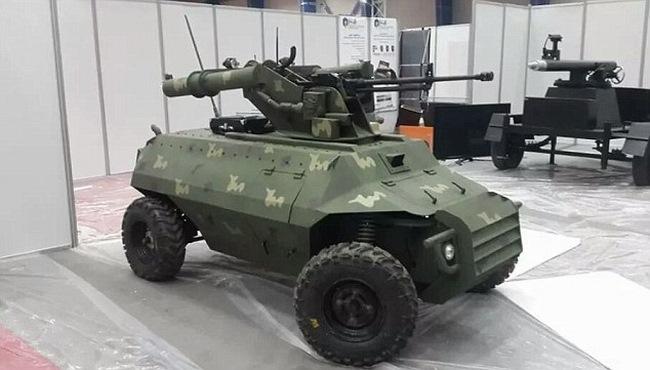 Iraq dùng robot xe tăng từ xa tiêu diệt IS - 1