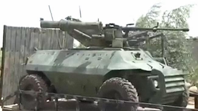 Iraq dùng robot xe tăng từ xa tiêu diệt IS - 3