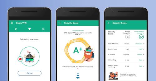 Opera Free VPN: Ứng dụng lướt web ẩn danh trên Android - 1