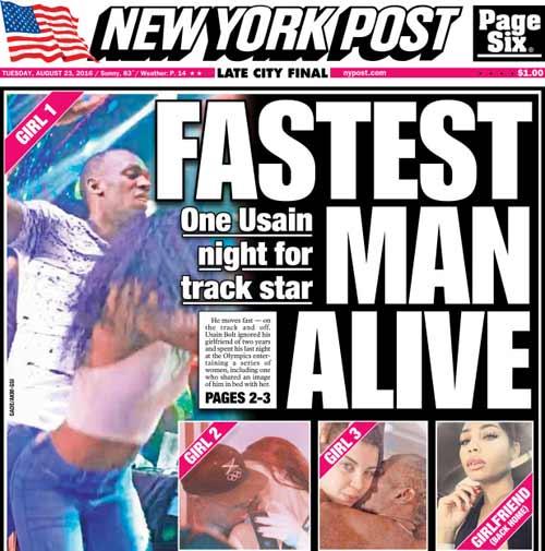 Usain Bolt tay chơi số 1: 2 ngày cặp kè 5 gái lạ - 1