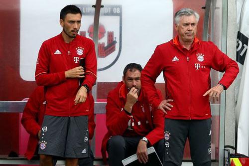 Hy hữu: Ancelotti bổ nhiệm con trai làm trợ lý - 1