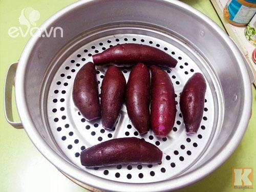 Bánh Trung thu khoai lang tím vừa ngon lại đẹp mắt - 4
