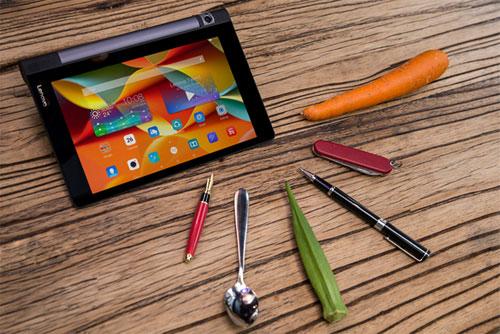 """Tablet """"cực độc"""" cho dùng cả…cà rốt, đậu bắp để viết, vẽ lên màn hình - 1"""