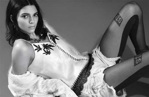 """Lộ ảnh quá """"nóng"""" của Kendall Jenner bị cắt khỏi Vogue - 8"""