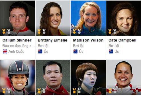 10 VĐV thống trị Olympic Rio: Phelps số 1, Bolt số 5 - 11