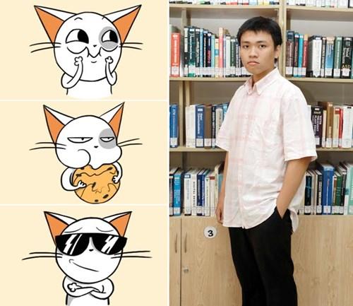 Sinh viên ĐH Duy Tân đoạt giải Nhất cuộc thi thiết kế Emoticon cùng Noizi - 2