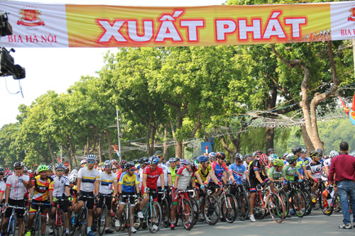 GIANT Việt Nam đồng tài trợ và thi đấu trong giải đua Hà Nội mở rộng 2016 - 2
