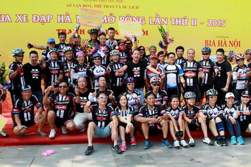 GIANT Việt Nam đồng tài trợ và thi đấu trong giải đua Hà Nội mở rộng 2016 - 3