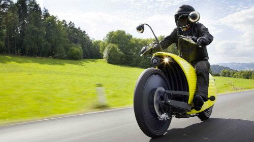 """Lạ mắt môtô điện """"độc"""" nhất chạy 201 km/lần sạc - 2"""
