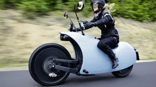 """Lạ mắt môtô điện """"độc"""" nhất chạy 201 km/lần sạc - 1"""