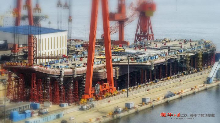 Trung Quốc sắp hạ thủy tàu sân bay nội địa đầu tiên - 2