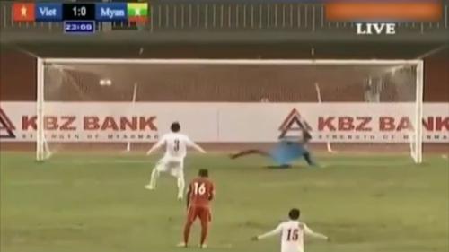 U19 Việt Nam - U19 Myanmar: Trận đấu của 2 quả penalty - 1